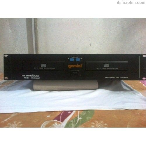Gemını Cd-9500 Proıı Dual Cd Player - İndirimde