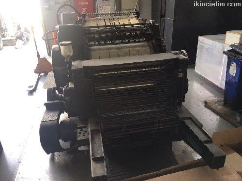 Heidelberg Kazanlı Kesim Makinesi 54x72 Ebat