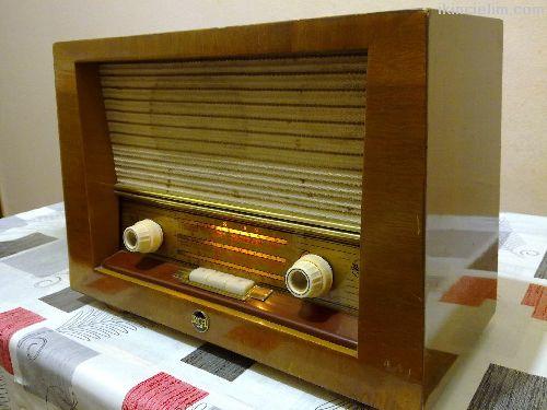 Antika Lambalı Radyo Rca Marka Satılıktır