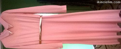 Kemerli abiye elbise