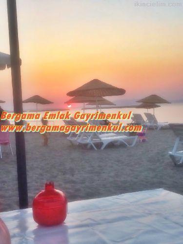 İzmir dikili çandarlı da  satılık Arsa