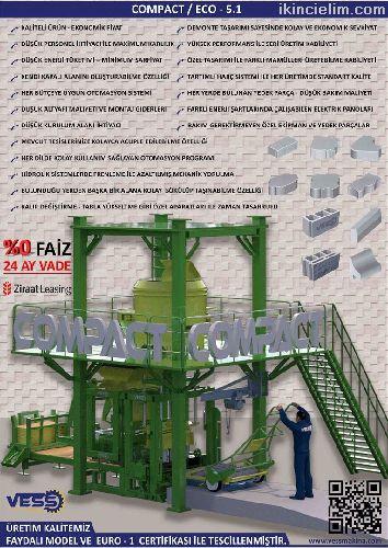 Vess Compact Eco 5.1 / 24 Ay Vade %0 Faiz