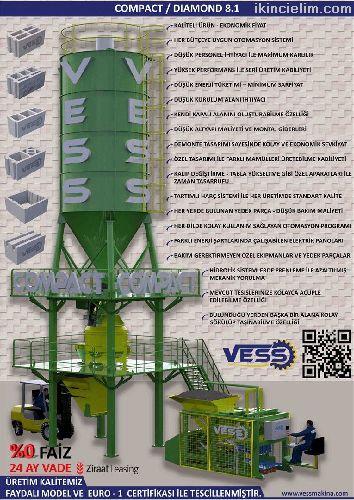 Vess Compact Dıamond 8.1 / 24 Ay Vade %0 Faiz