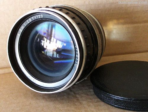 Jena Portre Lens Biometar 120 mm f/2.8 P6 Slr için