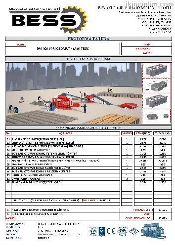 Prs 400 Yarı Otomatik Briket Makinası Mini Tesis
