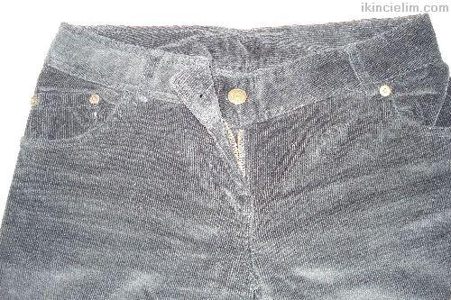 Zara Siyah Kadife Pantalon Sıfır Gibi