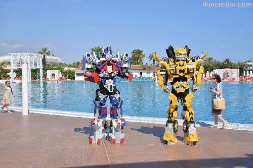 Kiralık Transformers Robot
