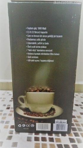 Sahibinden satılık vestel kahve makinası