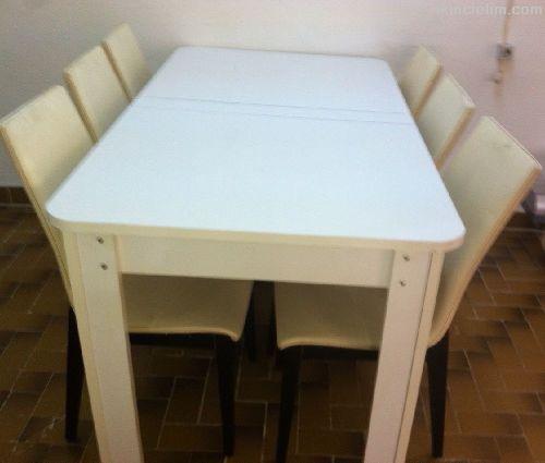Satılık Masa-Sandalyeler