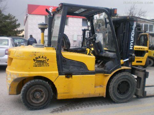 Ankara İstif Ten Hyundai 4,5 Ton Forklift