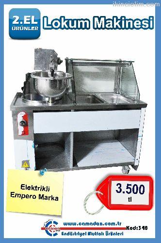 Empero Lokma Makinesi Elektrikli