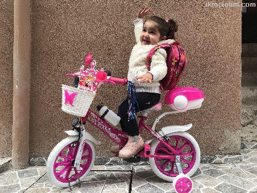 3 - 5 yaş çocuk Bisikleti kız erkek