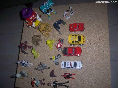 Çeşitli oyuncaklar