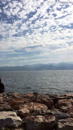 İzmir dikili mutlu tatil sitesinde satılık arsa