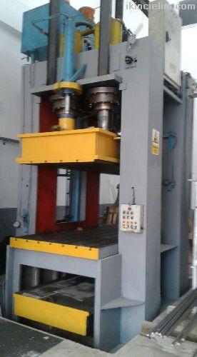Hidrolik sivama presi 900 ton