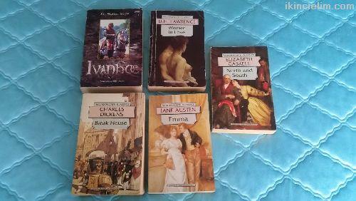5 Adet İngilizce Kitap 40 Lira (Klasik Roman)