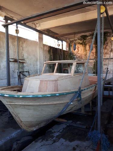 Ahşap ayna kıç ters kamara kestane sıfır tekne