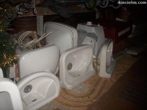 2. el ayaklı lavabo