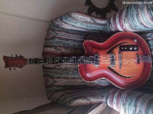 Musima Record 5 1950-1960 Model Elektro Gitar.