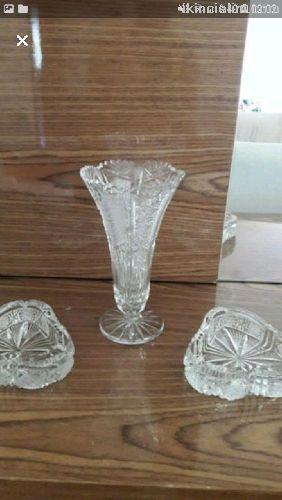 Gercek kristal vazo