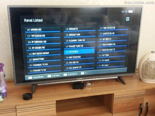 Tv 6 aylık kutu garanti hepsi var sıfır ürün