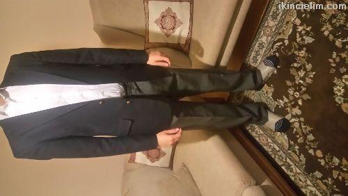 Ceket Ve Pantolon Takım Çok Temiz.Beden:46 Drop:6