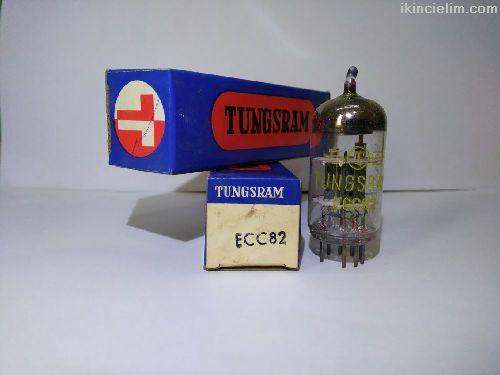 Ecc82 nos amfi lambası sıfır orjinal kutusunda