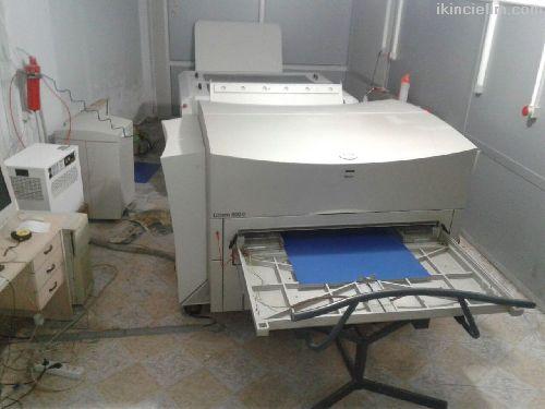 Az kullanılmış Termal Ctp ve Film Makinası