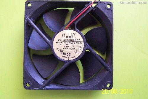 Ücretsiz Kargo - 92mm Fan - Dikkat 12Volt Dc - 92x