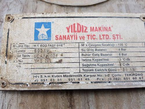 Boyama Makinalari Tekstil Ht Boyama Makinasi Satilik 600 Kg