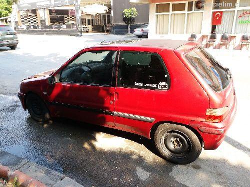 Yeni muayeneli Peugeot 106 xr 1999 model