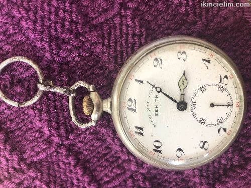 Çok eski bir saat dededen kalma Tcdd logolu
