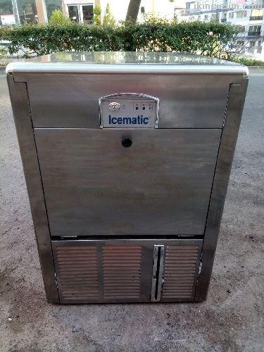 2.El İcematic Buz Makinesi, (24 Saatte 45 Kg Buz Y