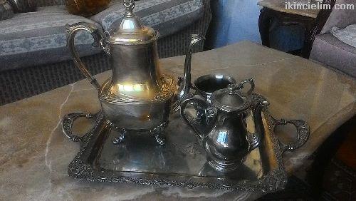 İngiliz Orijinal Çay Demlik Seti