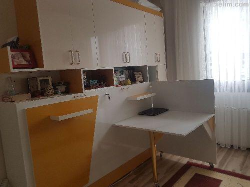 Gizli yataklı modüler mobilya