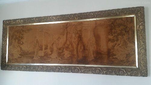 Antika Goblen Tablo