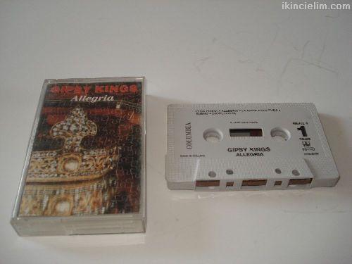 Gipsy Kings Allegria Albümü Kaset