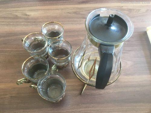 Pyrex Çay Takımı
