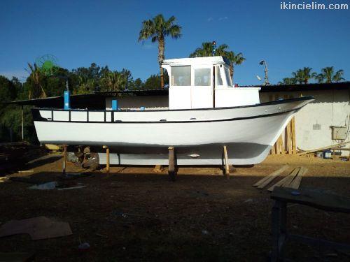 Satılık Yeşil Ruhsatlı Balıkçı Teknesi