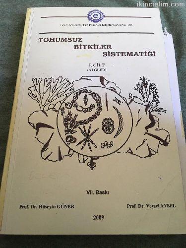 Tohumsuz Bitkiler Sistematiği 1.Cilt (Algler)