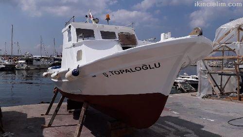 Satılık Balıkçı Tekne Liman Kayıtlı Yeşil Ruhsatlı