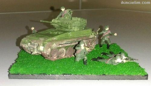 Tank Destekli Piyade Savunmada