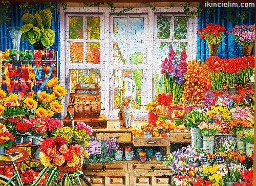 1000 parça çerçevesiz puzzle