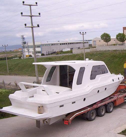 12.5 metre sıfır imalattan lüx Motoryat