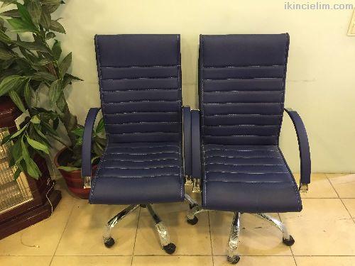 10 adet özel yapım büro sandalyesi