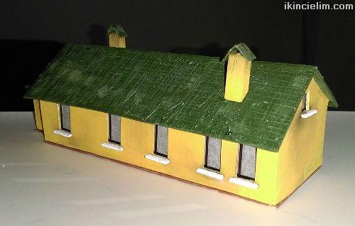 1/87 Ho İstasyon Ofis Binası (Işıklı)
