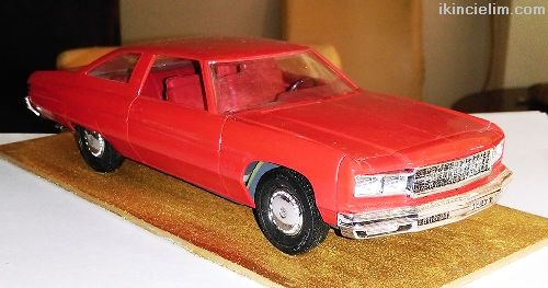 1976 Chevy Caprıce 1/25 Araba Modeli