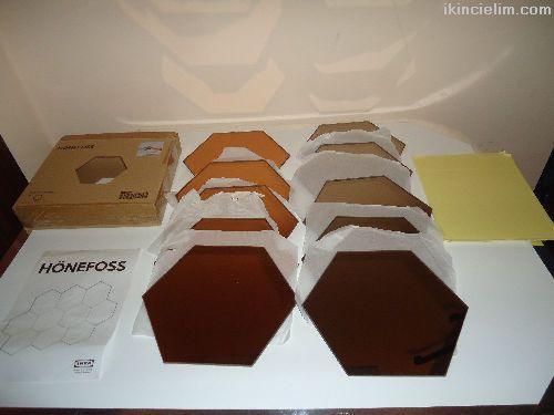 Ikea Hönefoss Ayna Takımı Kullanılmamış