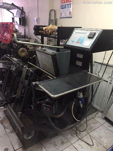2 No Maşalı Orj Gri Yaldız Makinası