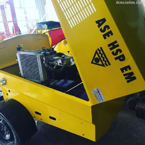 Çift Pistonlu Sıva Makinası